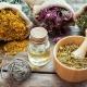 An assortment of herbs & essences