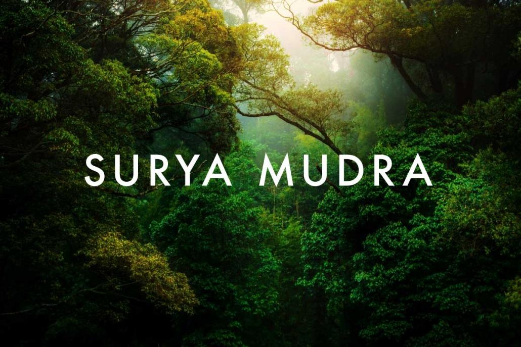 Surya Mudra
