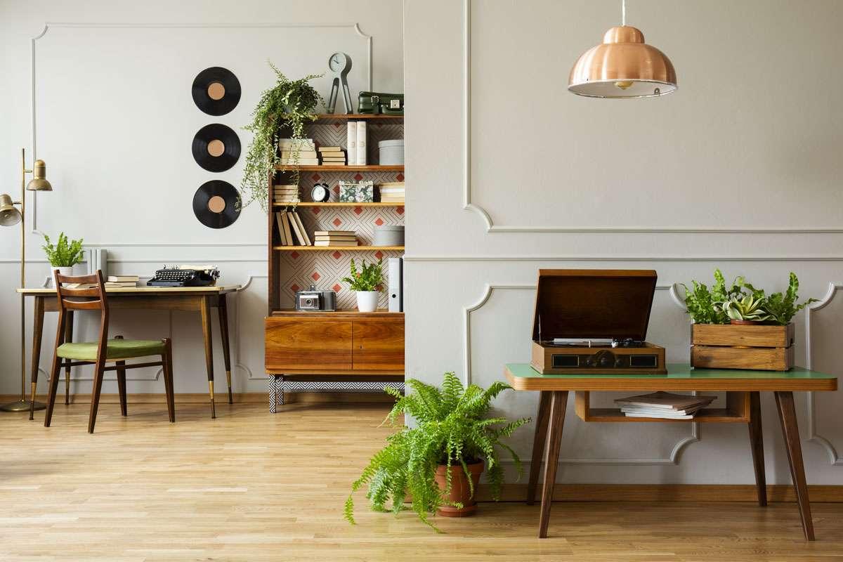 Stylish interior at home