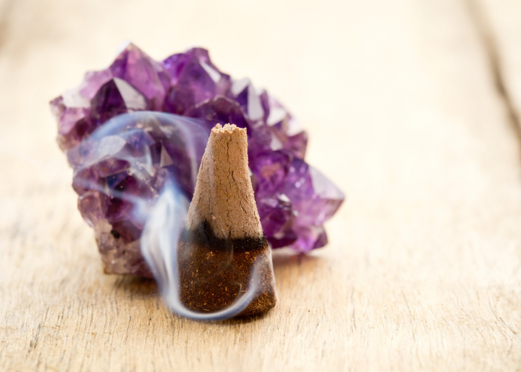 What Incense is Good for Cleansing Crystals